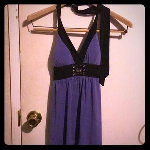 Purple IZ Byer halter top